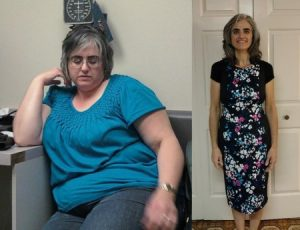 Weight loss, before and after, transformation