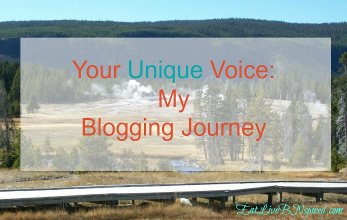 Your Unique Voice:  My Blogging Journey